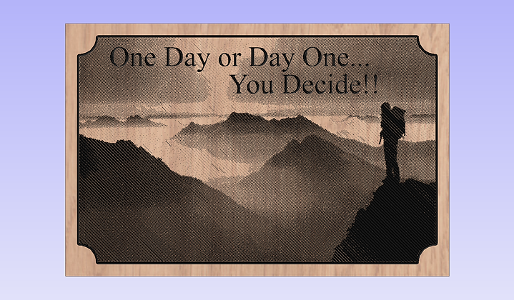 Life's Decisions - Wall Hanging