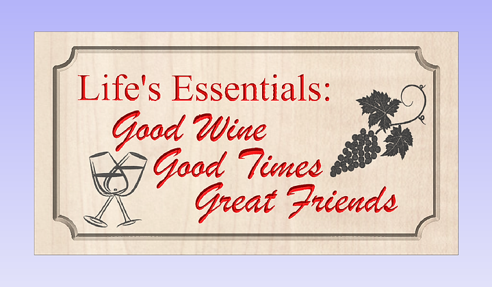 Essential's of Life Sign