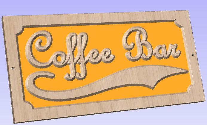 "Coffee Station ""Coffee Bar"" Signage"
