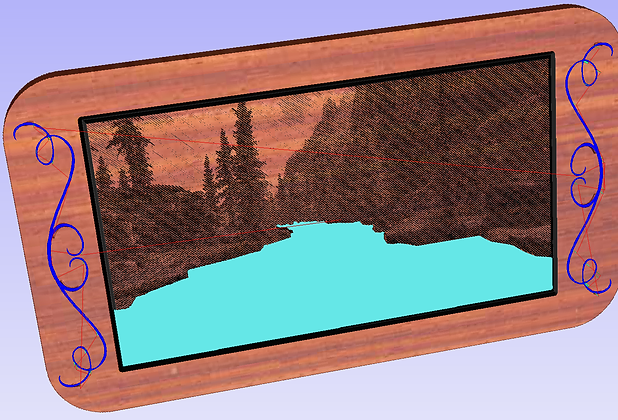 Mountain & River Charcuterie Tray