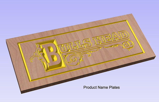 Product Name Plates