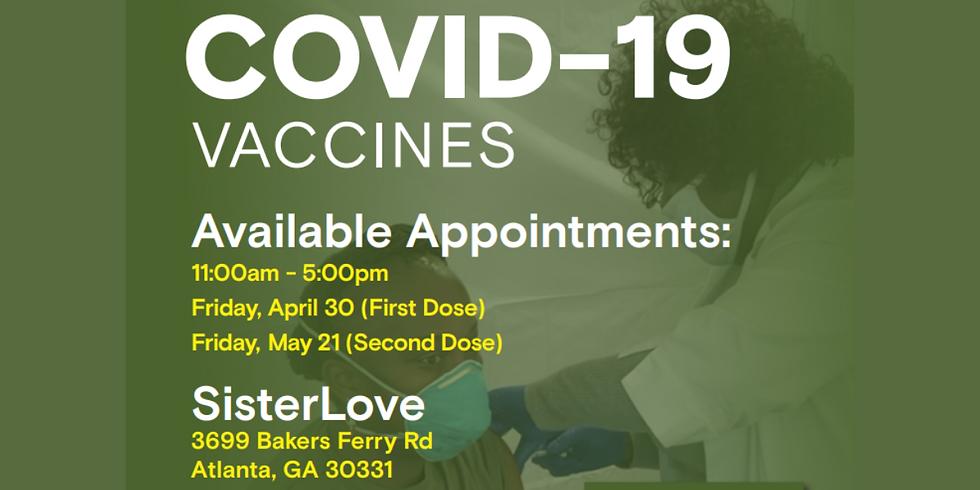 Community Health Event: SisterLove & CORE Atlanta: Free Vaccination Drive