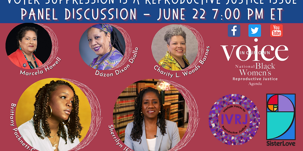Webinar:  Black Reproductive Justice Policy Agenda and Voting Rights