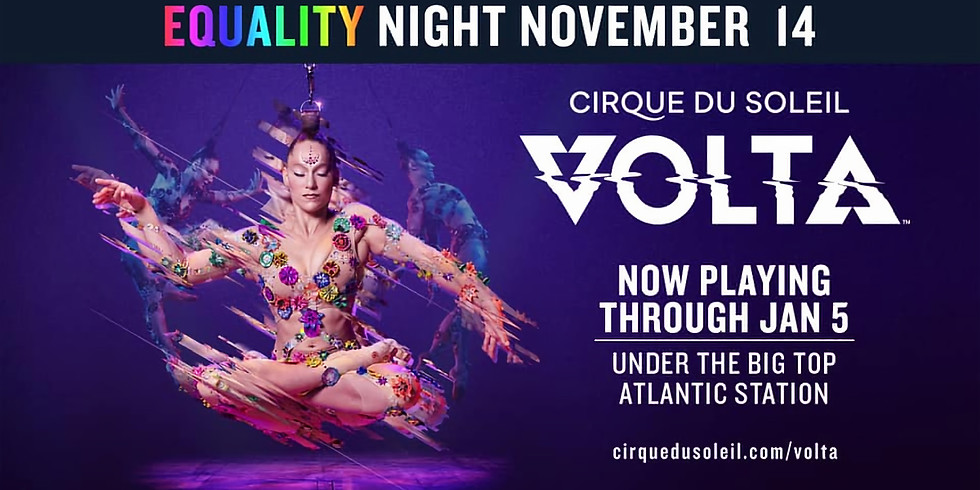 Equality Night at Cirque du Soleil!