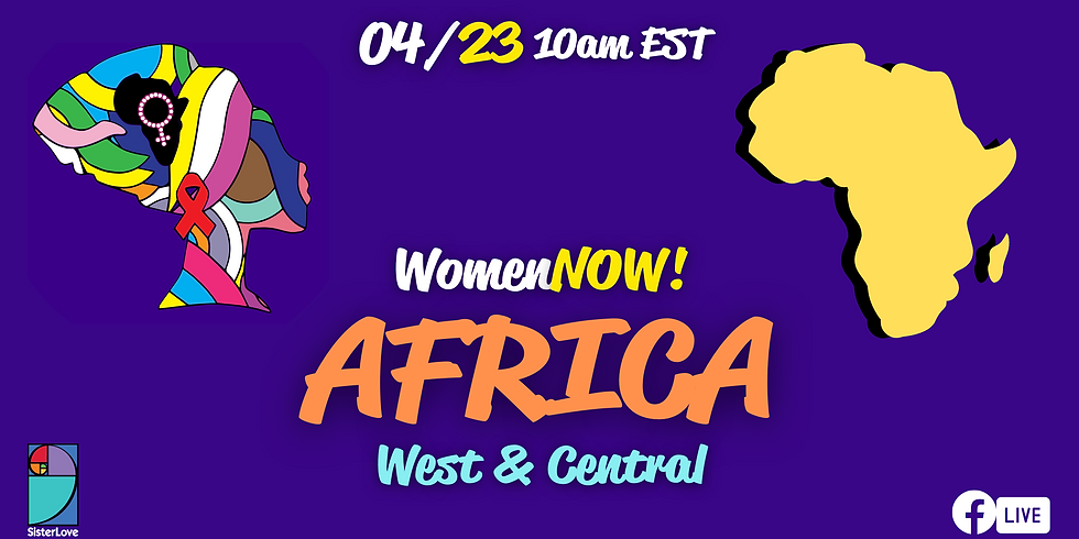 WomenNOW! Virtual: West & Central Africa