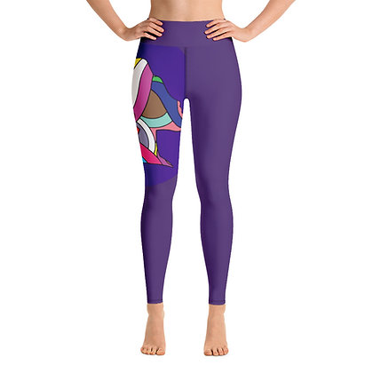 Yoga Leggings Blue