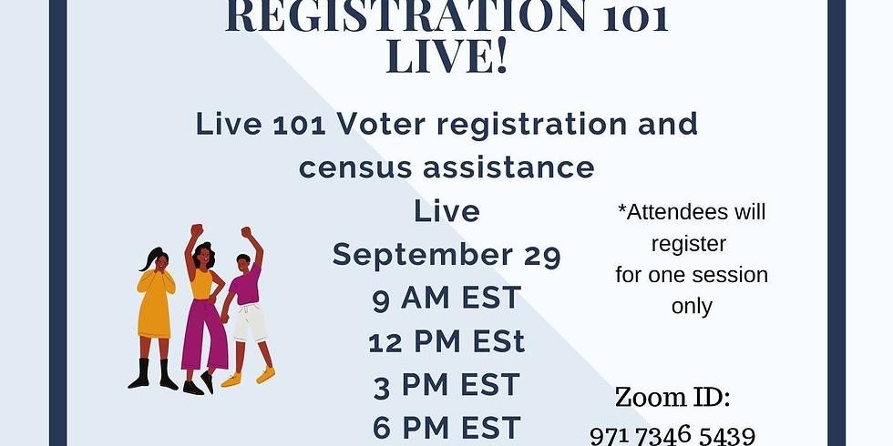 Voter Registration 101 Live
