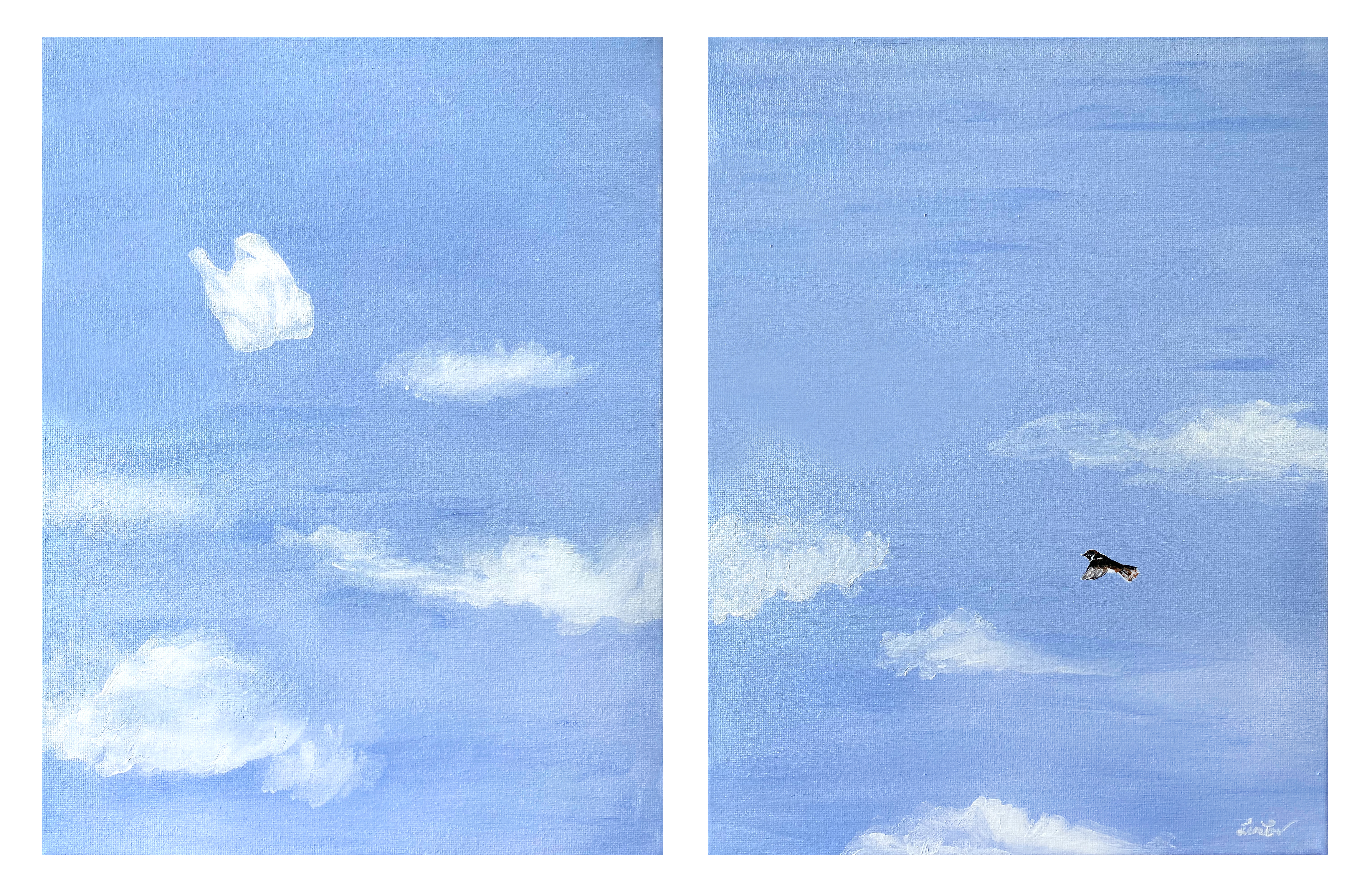 """Diptych """"The End of the Era"""""""