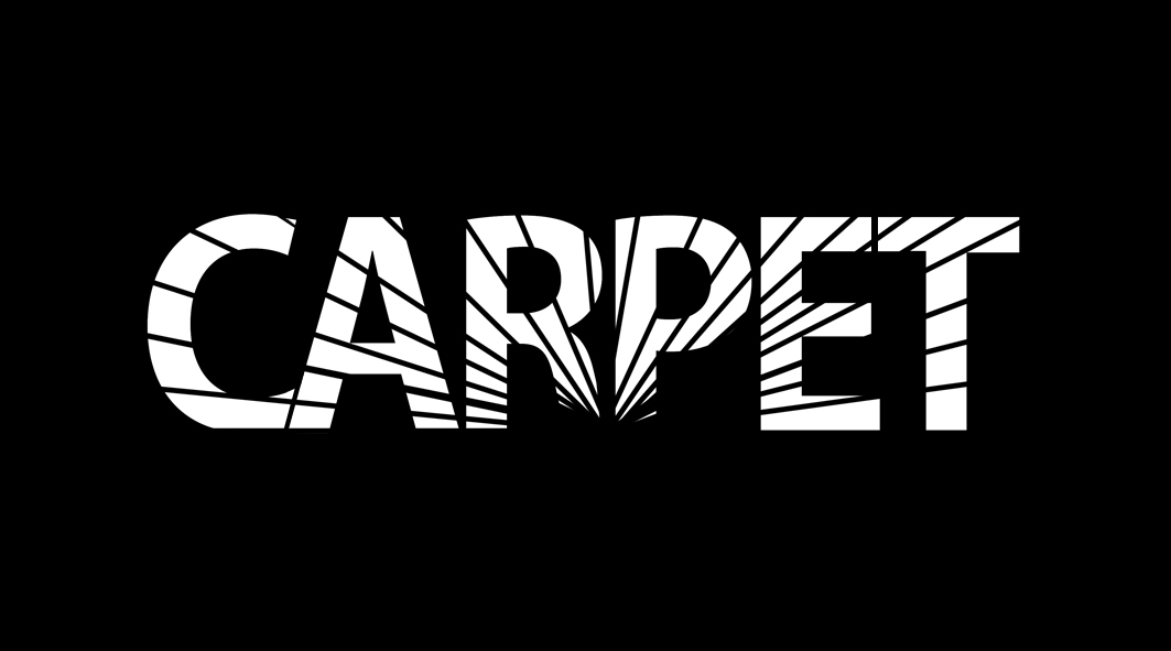 "Logo for the ""CARPET"" company"