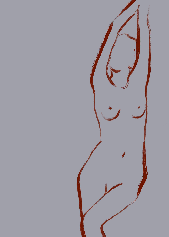"""Collection of 8 artworks """"8 Desnudas"""""""
