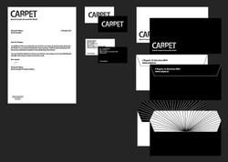 "Stationary for the ""CARPET"" company"