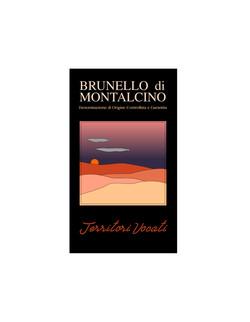Wine label / Brunello di Montalcino