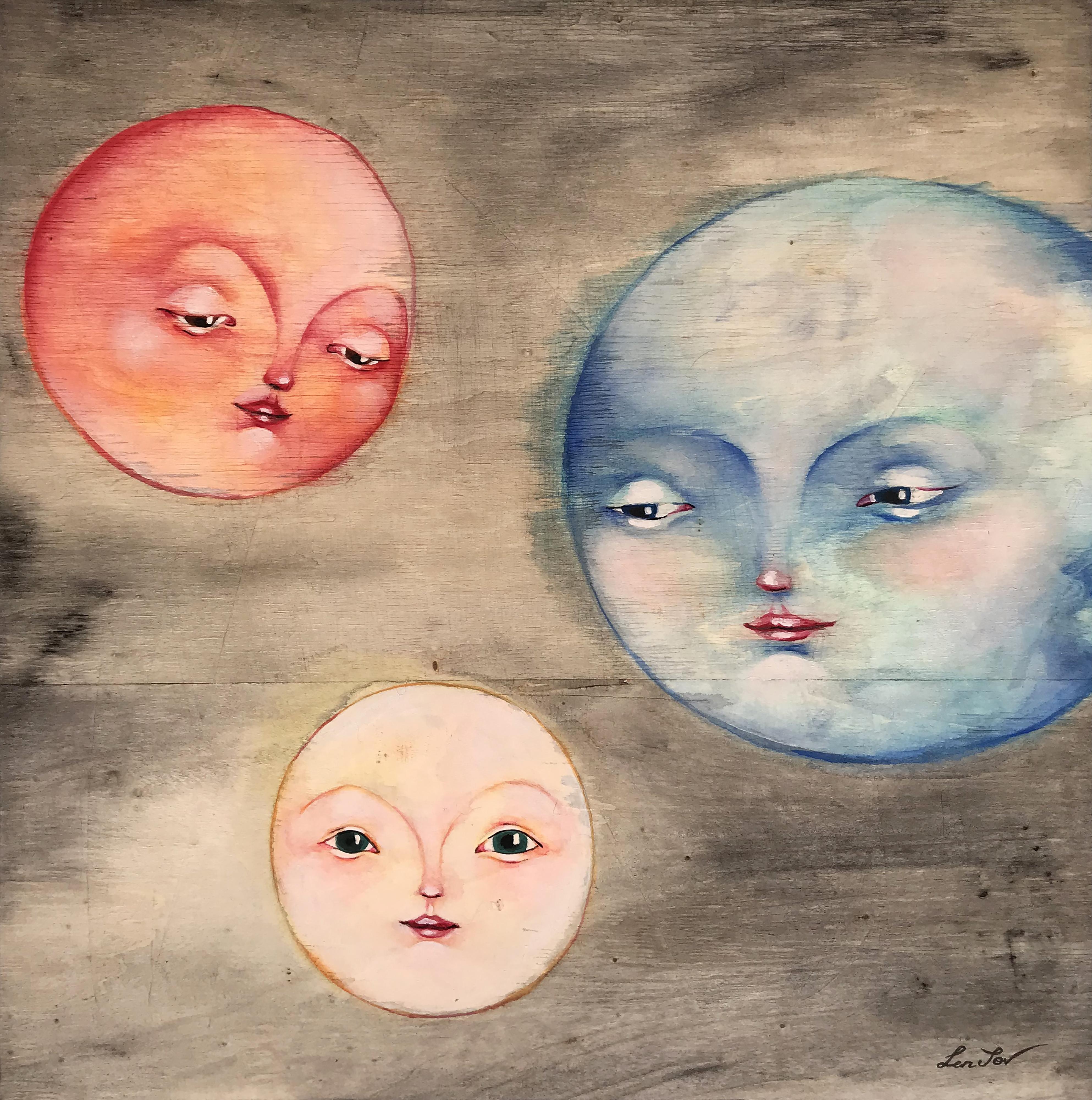 """""""El nacimiento de la Luna"""""""