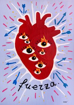 """""""Corazon fuerte"""" / series heART"""