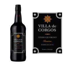 Wine label for Villa de Corgos