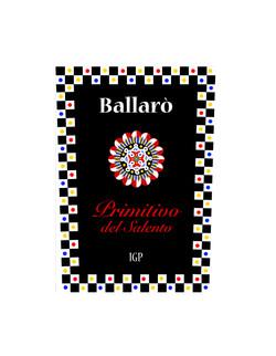 Wine label / Primitivo del Salento