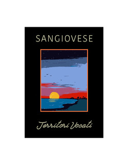 Wine label / Sangiovese