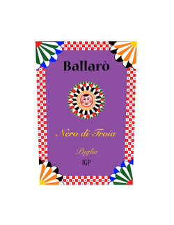 Wine label / Nero di Troia