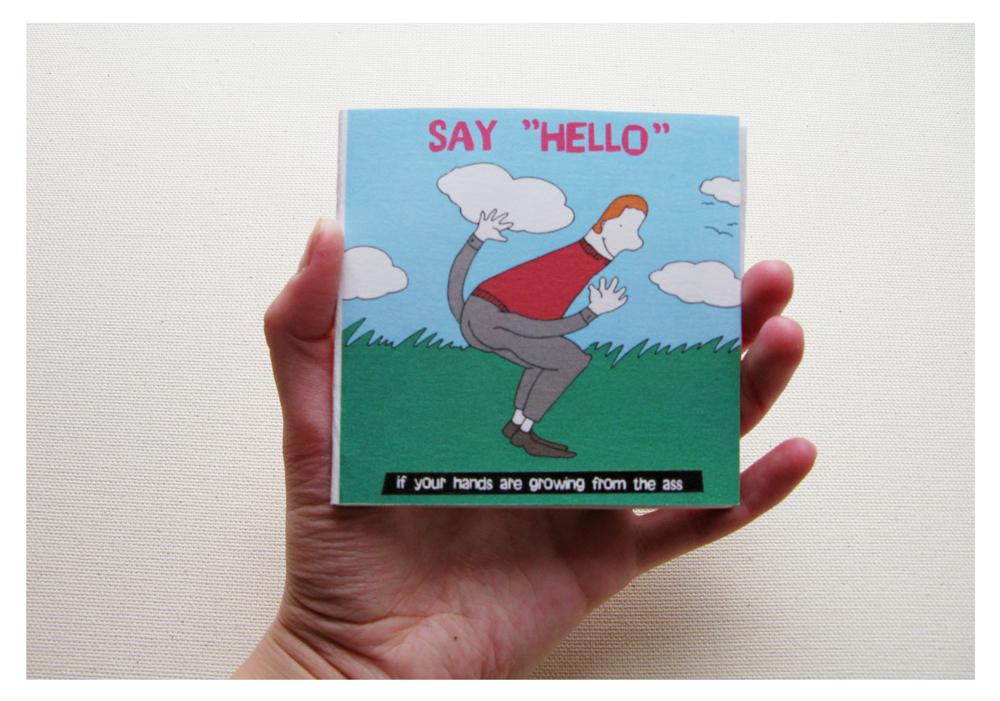 """Say 'HELLO' """