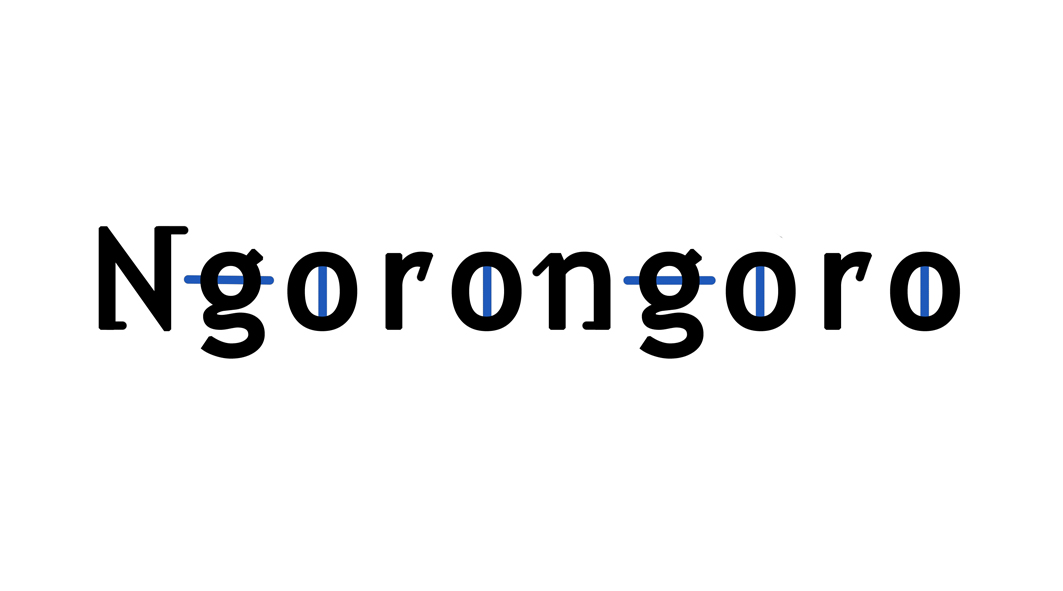 """Logo for the """"Ngorongoro"""""""
