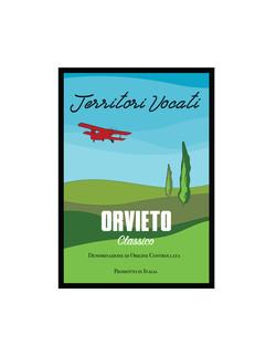 Wine label / Orvieto