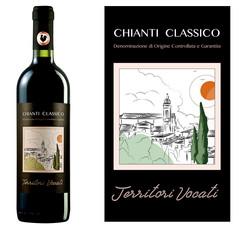Wine label for CHIANTI Classico DOCG