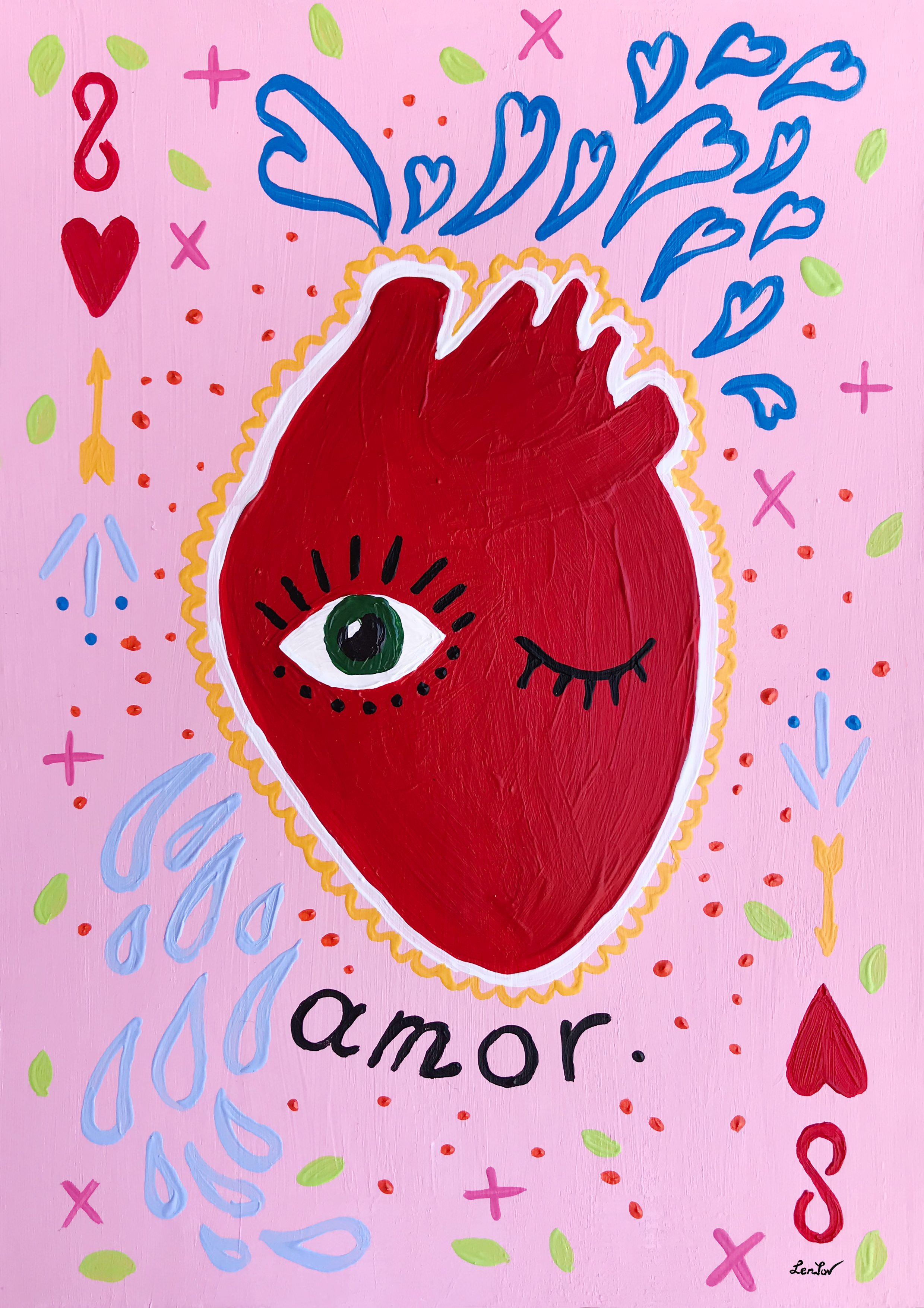 """Corazon Enamorado"" / series heART"