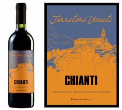 Wine label for CHIANTI DOCG