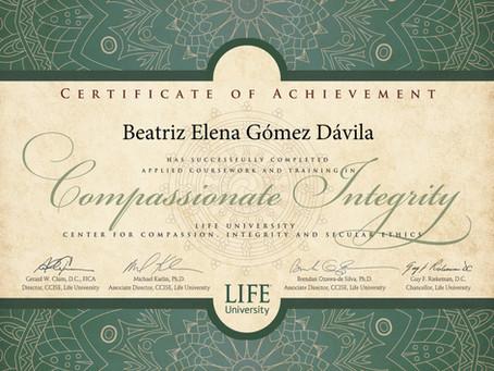 Certificación Compassionate Integrity