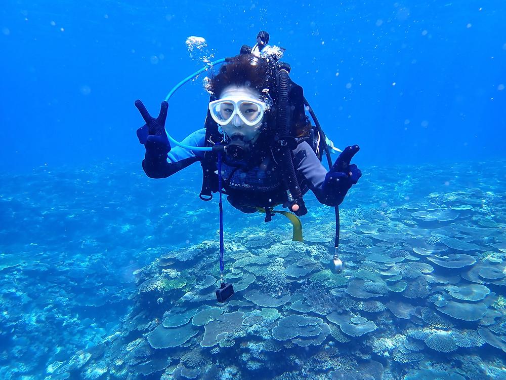 沖縄本部町体験ダイビング