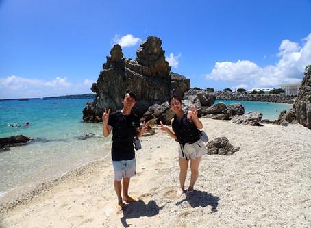 沖縄本部町ゴリラチョップ 美ら海ビーチシュノーケリング