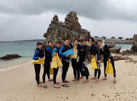 沖縄ゴリラチョップ ビーチシュノーケリング