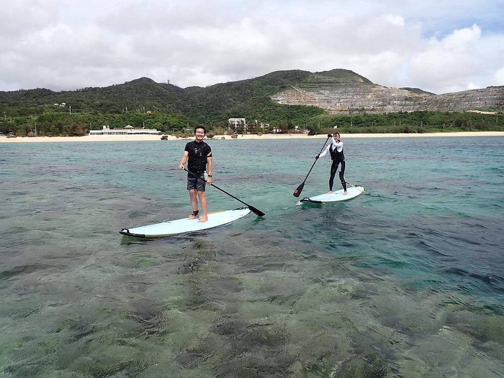 沖縄 スキンダイビング  サップ