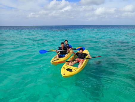 沖縄北部 クリアーカヤック+シュノーケリング