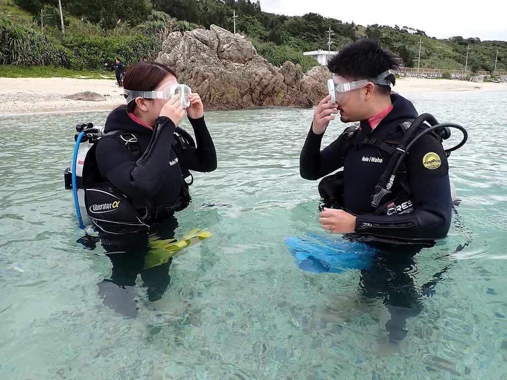 泳げなくても大丈夫!沖縄で体験ダイビング