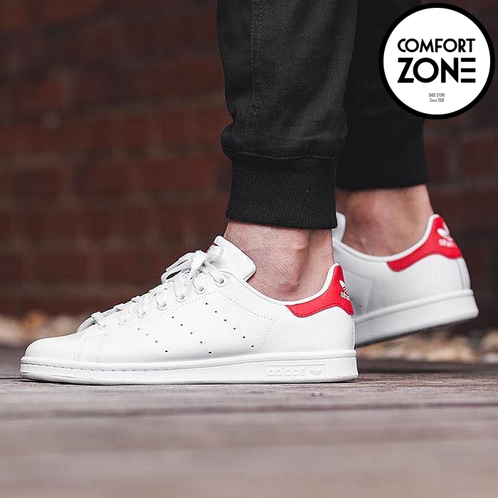 promo code 6524d a6742 Adidas Stan Smith White Red