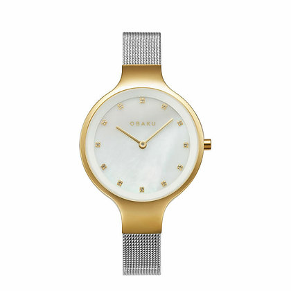Sky - Gold Bi - Analog Watch