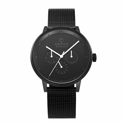 Venlig - Charcoal - Multi Function Watch