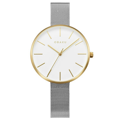 Mynte - Gold Bi - Analog Watch