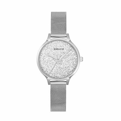 Stjerner - Steel - Analog Watch
