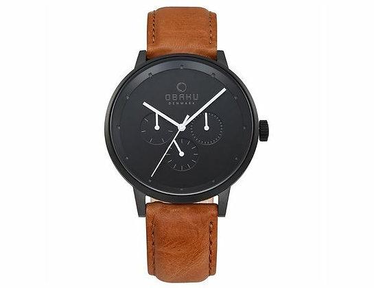 Venlig - Tan - Multi Function Watch