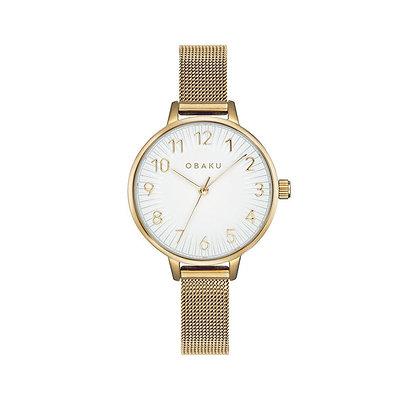 Syren - Gold - Analog Watch