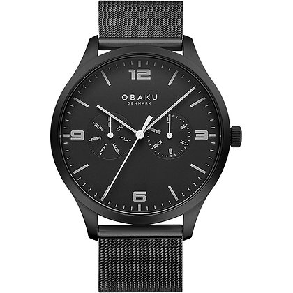 Ask - Charcoal - Analog Watch