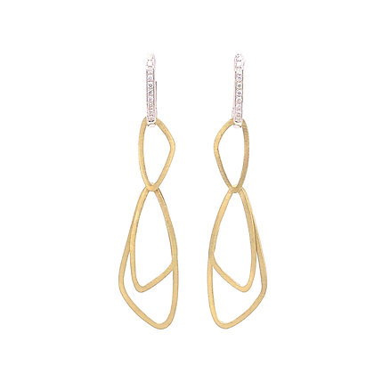 Cheri Dori 14K Two-Tone Earrings