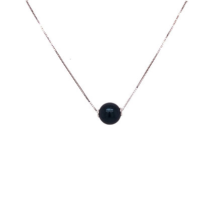 14KW Black Dyed Cultured Pearl