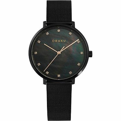 Vest - Charcoal - Analog Watch