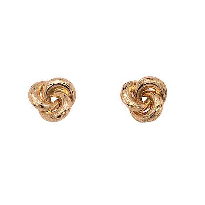14KY Knot Stud Earrings