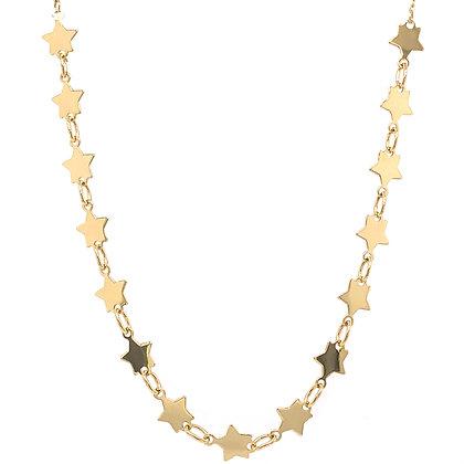 14KY Star Link Adjustable Necklace