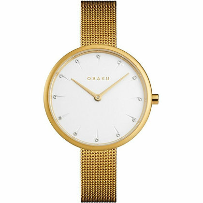Notat - Gold - Analog Watch