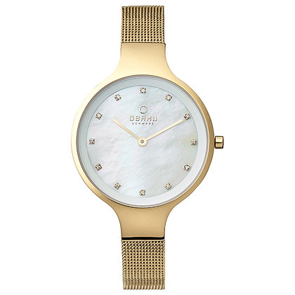 Sky - Gold - Analog Watch